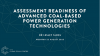 Technology readiness of advanced coal-based power generation technologies