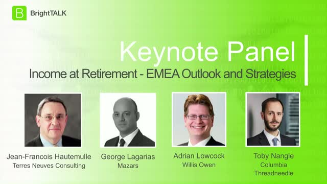 Income At Retirement: EMEA Outlook and Strategies