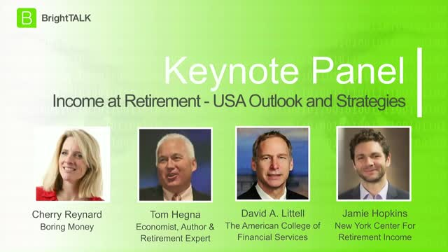 Income At Retirement: US Outlook and Strategies