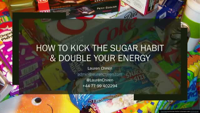 Get your sparkle back: Kick your sugar habit and double your energy