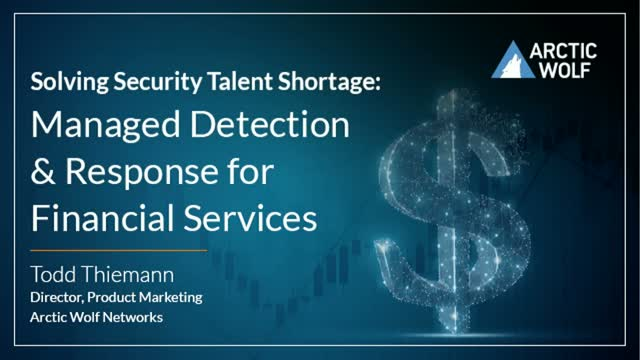 Solving The Cybersecurity Skills Shortage in Financial Institution