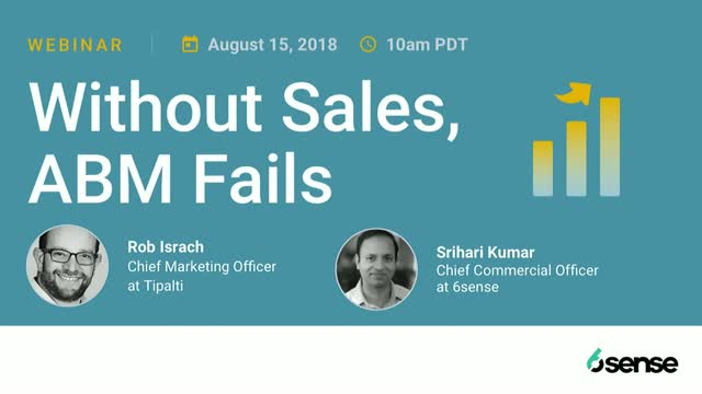 Without Sales, ABM Fails