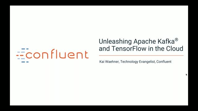 Unleashing Apache Kafka and TensorFlow in the Cloud