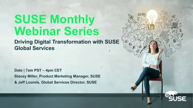 Driving Digital Transformation with SUSE Global Services