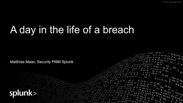 A Day in The Life of a Breach