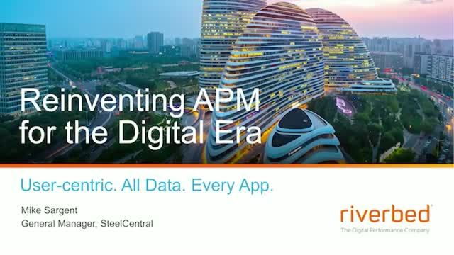 Re-inventing APM for the Digital Era