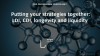Online training 2018, Session2: Putting your strategies together: LDI, CDI, long