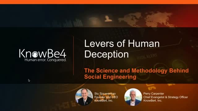 Levers of Human Deception: The Science and Methodology Behind Social Engineering