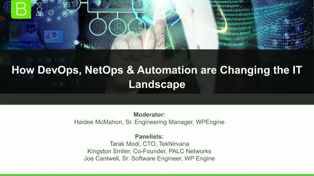 How DevOps, NetOps & Automation are Changing the IT Landscape