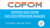 Certified Data Centre Facilities Operations Manager (CDFOM) Training Sneak Peek