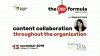 Content Collaboration Throughout the Organization