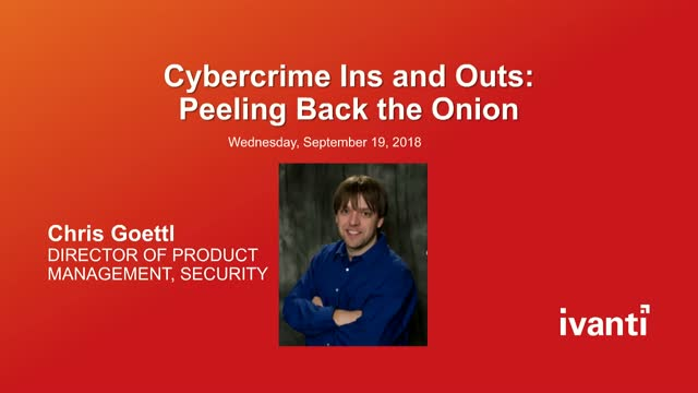 Cybercrime Ins and Outs: Peeling Back the Onion