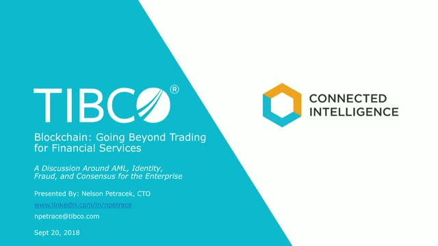 Blockchain: Going Beyond Trading for Financial Services
