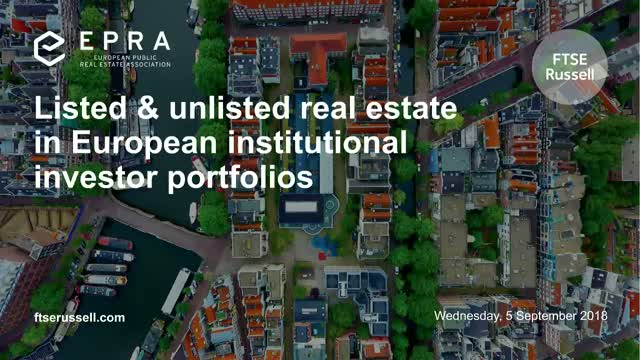 Listed & unlisted real estate in European institutional investor portfolios
