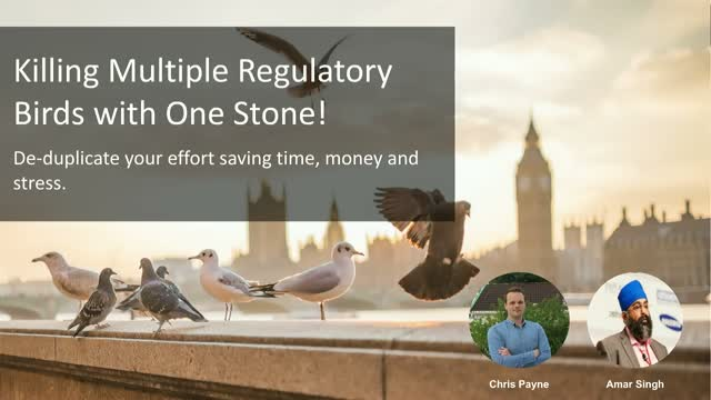 Killing Multiple Regulatory Birds with One Stone!