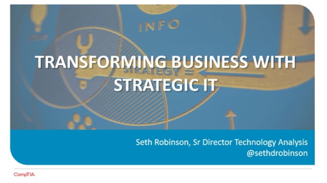 Transforming Business with Strategic IT