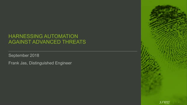 Harnessing Automation Against Advanced Threats