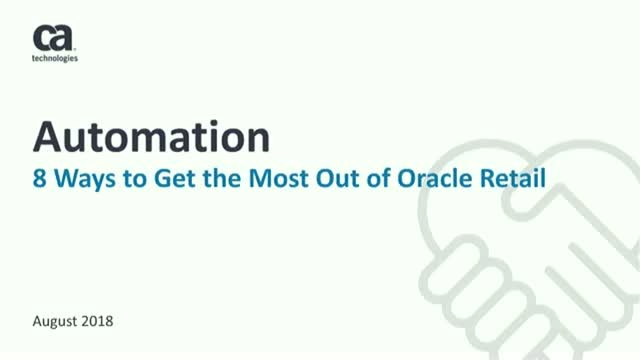 8 Ways to Get the Most Out of Oracle Retail