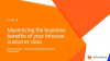 Maximizing the business benefits of your Inhouse customer data