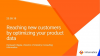 Reaching new customers by optimizing your product data