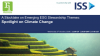 A Stocktake on Emerging ESG Stewardship Themes: Spotlight on Climate Change