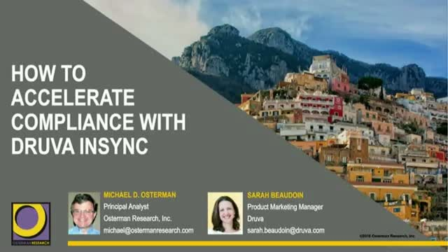 How to Accelerate GDPR Compliance with inSync