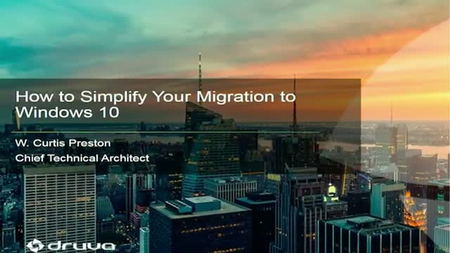 How to Simplify Your Migration to Windows 10