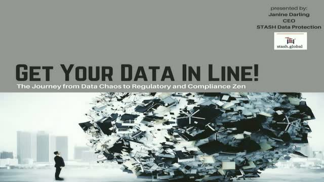 Get Your Data In Line! Journey From Data Chaos to Regulatory & Compliance Zen