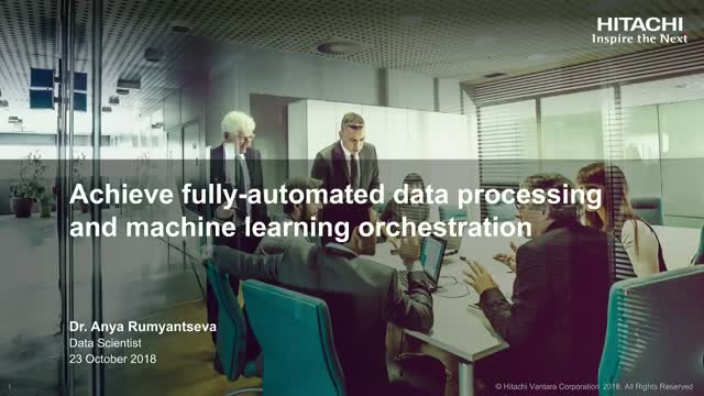 Achieve Fully-automated Data Processing and Machine Learning Orchestration