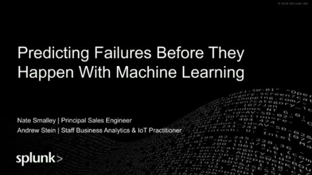 Predicting Failures Before They Happen With Machine Learning