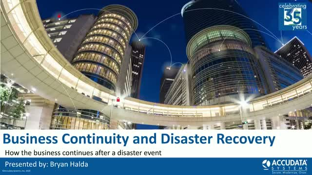 A Guide to Modern Business Continuity