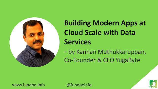 Building Modern Apps at Cloud Scale with Data Services