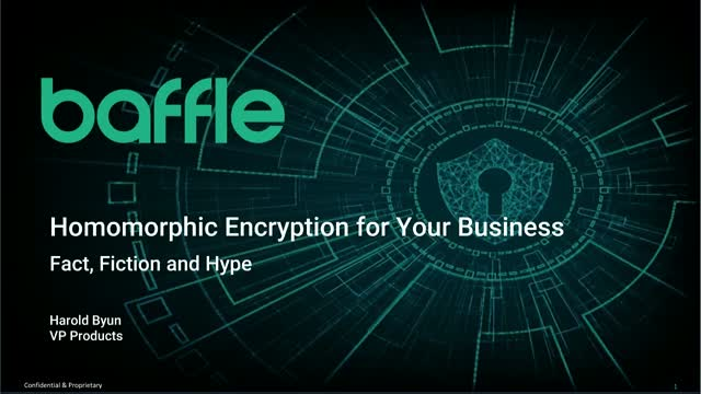 Homomorphic Encryption for Your Business: Fact, Fiction, and Hype