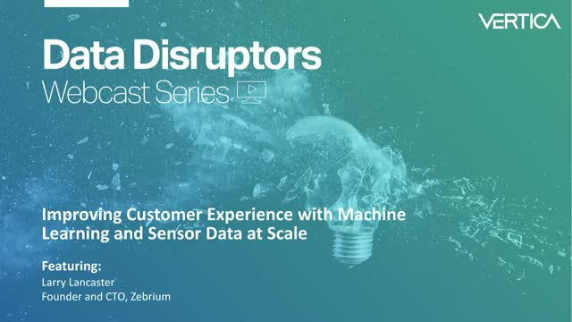Improving Customer Experience with Machine Learning and Sensor Data at Scale