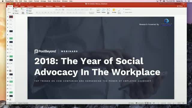 2018: The Year of Social Advocacy in The Workplace