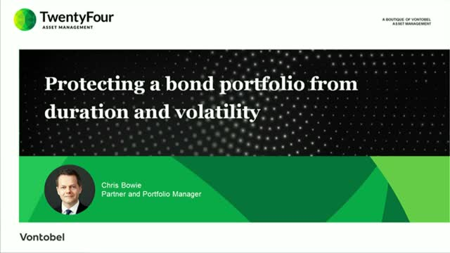 Protecting a bond portfolio from duration and volatility