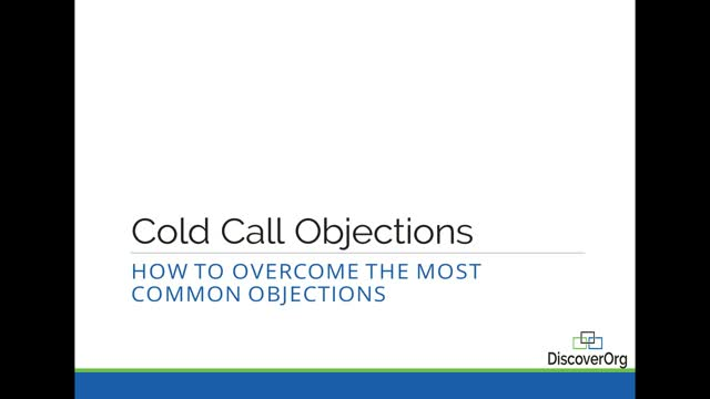 Cold Call Objections: How to Overcome The Most Common Objections