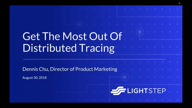 Get the Most Out of Distributed Tracing