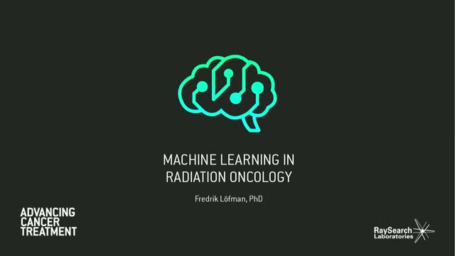 Machine learning and automation in radiation oncology