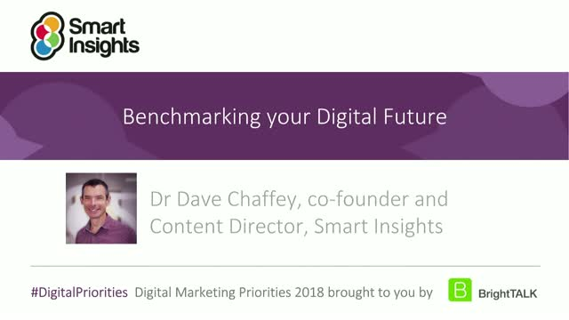 Benchmarking your digital future