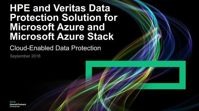 Data Protection Solution for Azure Stack