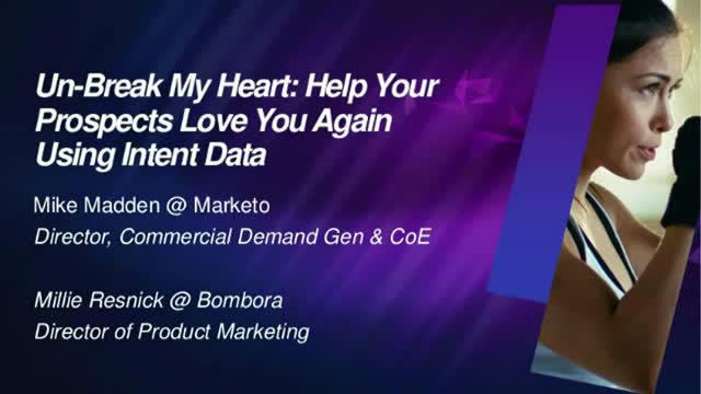 Help Your Prospects Love You Again Using Intent Data