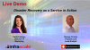 Live Demo: Disaster Recovery as a Service in Action