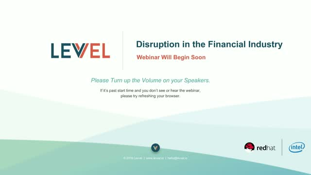 The Top 3 Disruptors in the Financial Industry