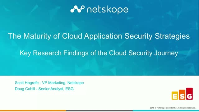 Can the Maturity of Your Cloud Security Strategy Make or Break Your Organization
