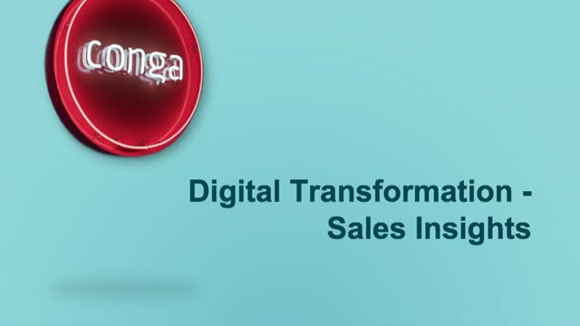 Digital Transformation Series Part 2: Sales Insights