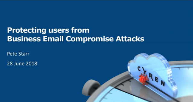Protecting Users from Business Email Compromise Attacks