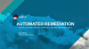 Automated remediation—identify, prioritize, and solve problems in your Red Hat