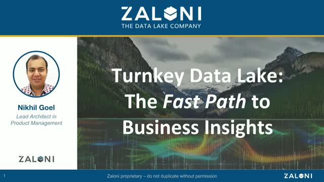 Turnkey Data Lake: The Fast Path to Business Insights