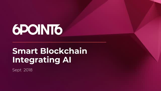 Smart Blockchain Integrating AI